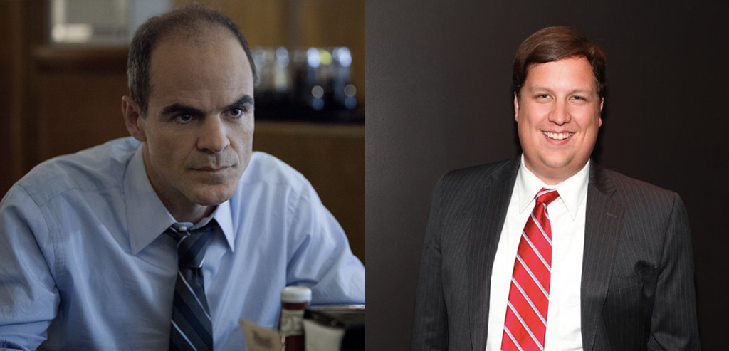 Alex Schriver is like Doug Stamper